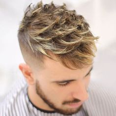 Simple But Trendy Short Blonde Haircut For Men, Short hairstyles aren& only meant for summer because it can be worn in any season. This quick hairstyle can enable you to take control over your curl. Short Blonde Haircuts, Haircuts For Long Hair, Haircuts For Men, Short Hair Cuts, Short Hair Styles, Haircut Men, Haircut Styles, Popular Mens Haircuts, Stylish Haircuts