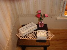 My little little dream: Jewellery or keep sake boxes to make - Russian tutorial