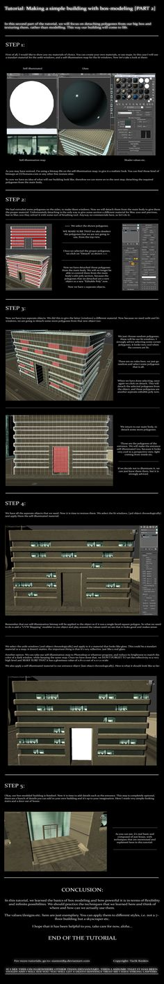Box Modeling A Building Pt.2 by =Siamon89 on deviantART