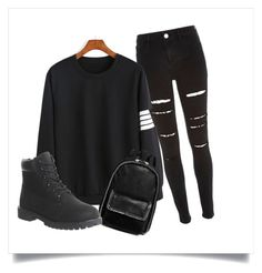 """""""outfit"""" by kayleeloader ❤ liked on Polyvore featuring River Island, STELLA McCARTNEY and Timberland"""