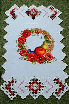 Poppies, Pop Art, Diy And Crafts, Towel, Cross Stitch, Embroidery, Spas, Craft, Embroidery Stitches