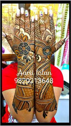 #LoveTejaan #Pari.kapadia Full Mehndi Designs, Khafif Mehndi Design, Floral Henna Designs, Indian Mehndi Designs, Wedding Mehndi Designs, Mehndi Design Pictures, Beautiful Mehndi Design, Mehndi Designs For Hands, Tattoo Designs