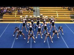Everything about this routine Likes, 172 Comments - Level appreciation ( on Instag. Level one cheer pyramid Cheer Dance Routines, Cheer Moves, Cheer Workouts, Cheer Coaches, Uca Cheer, Football Cheer, Cheer Pyramids, Cool Cheer Stunts, Youth Cheerleading