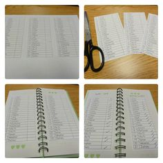 multiple class lists printed for use as needed...who turned in field trip money, etc