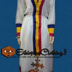 New Ethiopian traditional dress   Ethiopian clothing