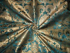 silk brocade fabrics: www. Dragon Age Dorian, Renaissance, Teal Eyes, Brocade Fabric, Peacock Blue, Byzantine, Aesthetic Pictures, Damask, Green And Grey
