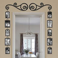 "Shop for door frame decorations at Bed Bath & Beyond. Buy top selling products like ""Home Sweet Home"" Wooden Door Frame Wall Sign and undefined. Warm Home Decor, Diy Home Decor, Decor Crafts, Sweet Home, Diy Casa, Decoration Bedroom, Frame Decoration, Decoration Pictures, Beautiful Decoration"