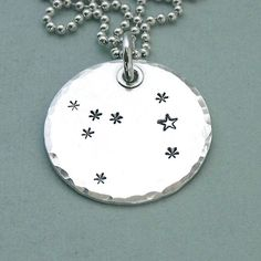 Canis Major Hand Stamped Constellation by MadamePoindextra