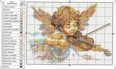 MOMENTOS DE PAZ: Anjinho a tocar violino