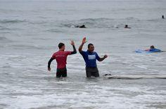 Best #surfSchool in #sandiego High Five :)