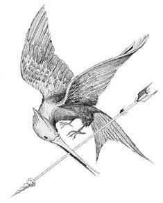 mockingjay tattoo