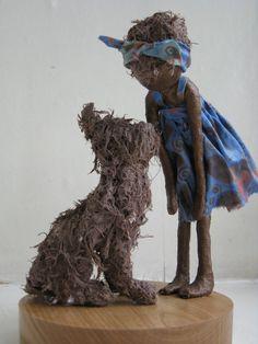 I'll Tell You a Secret  Made to order door Stephaniessculptures