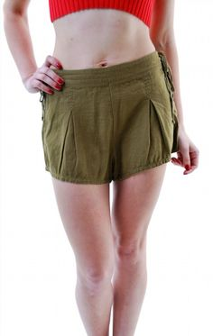 39.45$  Buy now - http://virbe.justgood.pw/vig/item.php?t=ku2ibp13265 - Free People Women's Authentic Silver Springs Short Khaki Size XS RRP £63 BCF66 39.45$