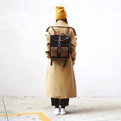 Curtesy regram thanks to: @wooden_bassano and @paper_wardrobe!#vintage #coat #jacket #survey #classic #backpack #selvedge #premium #denim #denimlovers #kingpins #amsterdam #newzealand #natural #tanned #oil #evolution #leather #love #minimal #design #pu89 #pitti #florence #italy #seek #berlin #germany @kjoreproject