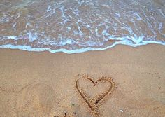 Sand hearts ️-georginabunner