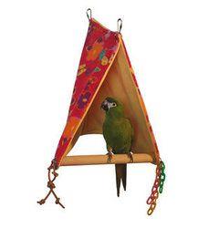 Peekaboo Perch Tent Large by Super Bird Creations