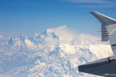 Flying to Bhutan: Mt Everest Fly-By