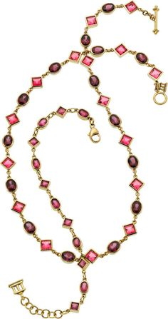 Temple St. Clair Tourmaline, Garnet, Gold Jewelry. ... (Total: | Lot #54473 | Heritage Auctions