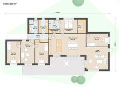 Plantegninger Celiba huse - se starten for dit nye unikke hus House Drawing, House Floor Plans, My Dream Home, Exterior Design, Planer, Living Spaces, New Homes, Layout, Indoor