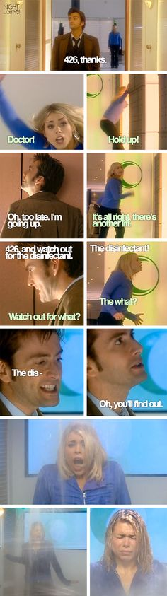 Doctor Who S02E01 New Earth ~ Disinfectant