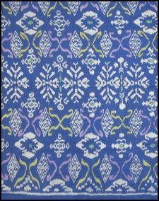 Indonesian #ikat at Textiil