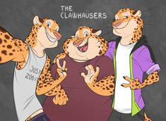 Benjamin has a set of younger twin brothers, Jonas and Anthony. They`re all big mamas boys, so yeah, they get knitted sweaters from her every christmas. Jonas is a personal trainer and Anthony fix peoples cars. They stand. Zootopia Characters, Monster Characters, Cheetah Dc, Character Art, Character Design, Furry Comic, Anime Furry, Furry Art, Beast