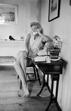 Marilyn Monroe by Sam Shaw