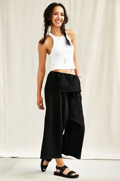 Urban Renewal Remade Thai Pant  http://www.shopstyle.com/action/loadRetailerProductPage?id=480591670&pid=uid3601-7931801-85  #fashion #style #beauty #hair #makeup #summerclothes #shoes #jewelry #jewellery #fashiontrends #love #like #summer #summerclothes #summerfashion #summerstyle #summeroutfits #summeroutfitideas #outfit #outfitideas #outfitidea #ootd #outfitoftheday #outfitinspiration #streetstyle #wiwt #retro #urbanfashion #croptop #hairstyle #widelegpants #monochromeoutfit