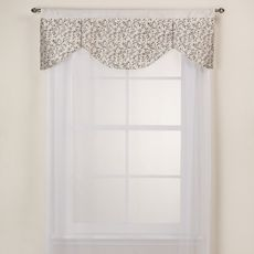 Festival Valance   Bed Bath U0026 Beyond  Looking For New Window Treatments For  The Kitchen