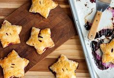 How to Make Star-Shaped Berry Hand Pies