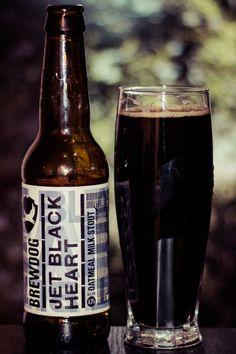 170  Jet Black Heart de Brewdog.  Une très bonne stout brasée avec de nombreux malts dont du blé et de lavoine.  http://ift.tt/2wxwAy8 http://ift.tt/2kn0Nyi