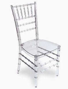 Cadeiras em acrílico - Objeto de desejo