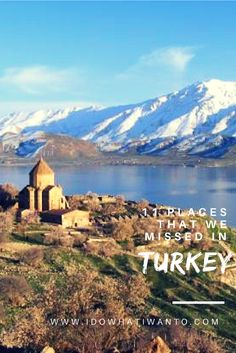11 places that would make you want to travel to Turkey. Wanderlust in Asia