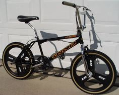 This is really from my young teens, but still an amazing toy (I saved up about three hundred bucks to buy it). Vintage Bmx Bikes, Retro Bikes, Bmx Bandits, Bike Freestyle, Gt Bmx, Bmx Cruiser, Bmx Street, Bmx Bicycle, Cycling Gear