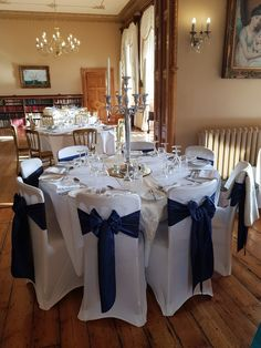 Navy Blue Sashes www.ido-weddings.love