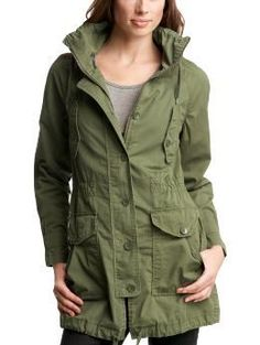Gap Military Anorak // scored on eBay for cheap.