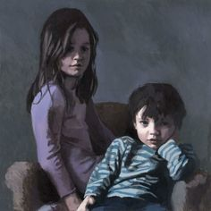 claerwen james, 'sister and brother' 2006