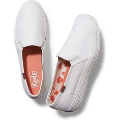 Keds TRIPLE DECKER CROSS HATCH ($60) ❤ liked on Polyvore featuring shoes, sneakers, natural, pull on shoes, platform slip on sneakers, pull-on sneakers, slip on trainers and keds shoes