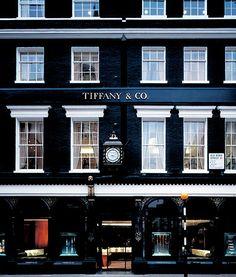 London store façade