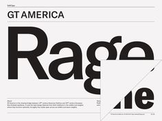 GT America – Grilli Type – Independent Swiss Type Foundry – Free Trial Fonts