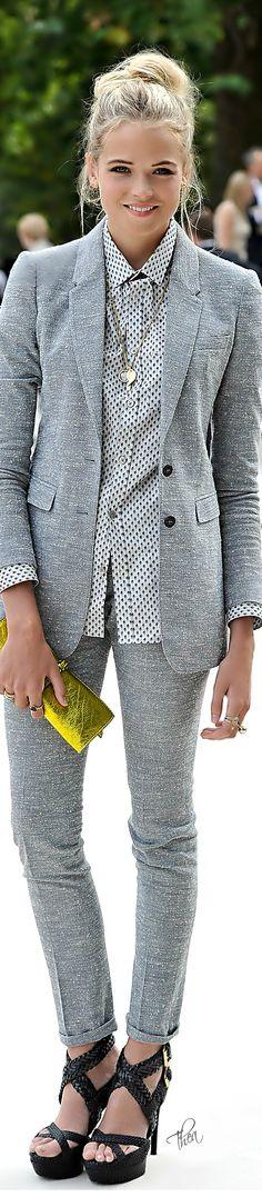 Long jacket, tight pants, shirt tucked out.