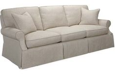 3081-03  Sofa    Overall: W86 D39 H36  Inside: W71 D22 H18  Seat Height: 18 Arm Height: 23 Back Rail Height: 31