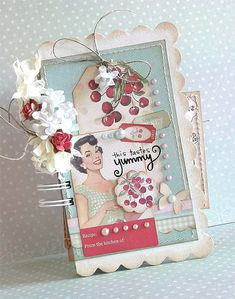 {This Tastes Yummy!} mini album *Melissa Frances* - Scrapbook.com