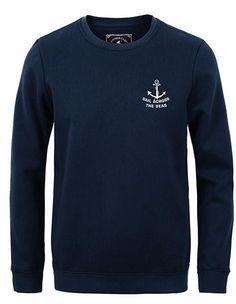 New autumn winter fashion men hoodies casual 100% cotton thicken fleece crew neck hoodie sweatshirt