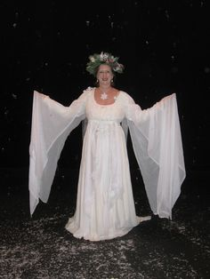 "Becky as ""Ghost of Christmas Past""-A Christmas Carol"