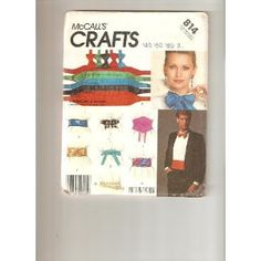 McCall's pattern 814 (Crafts)
