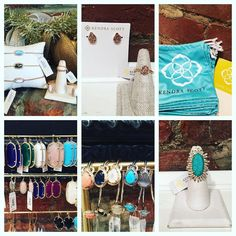 Come add some new color to your collection! Kendra Scott Jewelry  #madisonsbluebrick #downtownhotsprings #kendrascott #jewelry