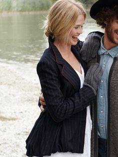 Peplum wool Jacket pattern