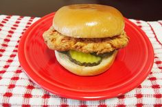 A DIY vegan version of Chick-Fil-A's famous sandwich!