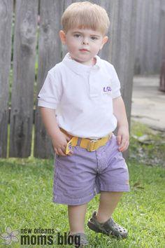 JV Clothiers: Preppy LSU duds | New Orleans Moms Blog